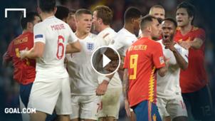 Spain England