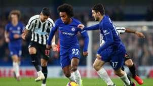 Willian Chelsea vs Newcastle Premier League 2018-19