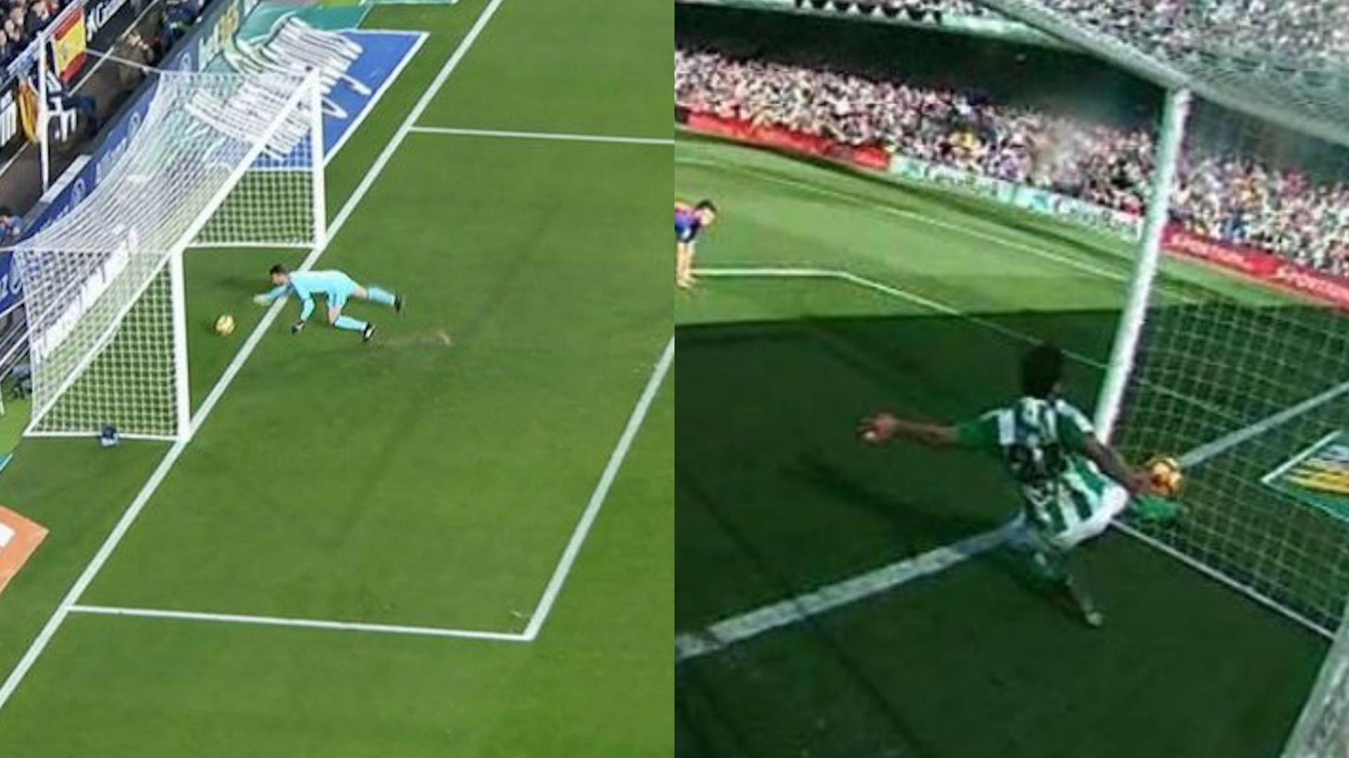 Valencia y Barcelona empatan; le niegan un gol a Messi