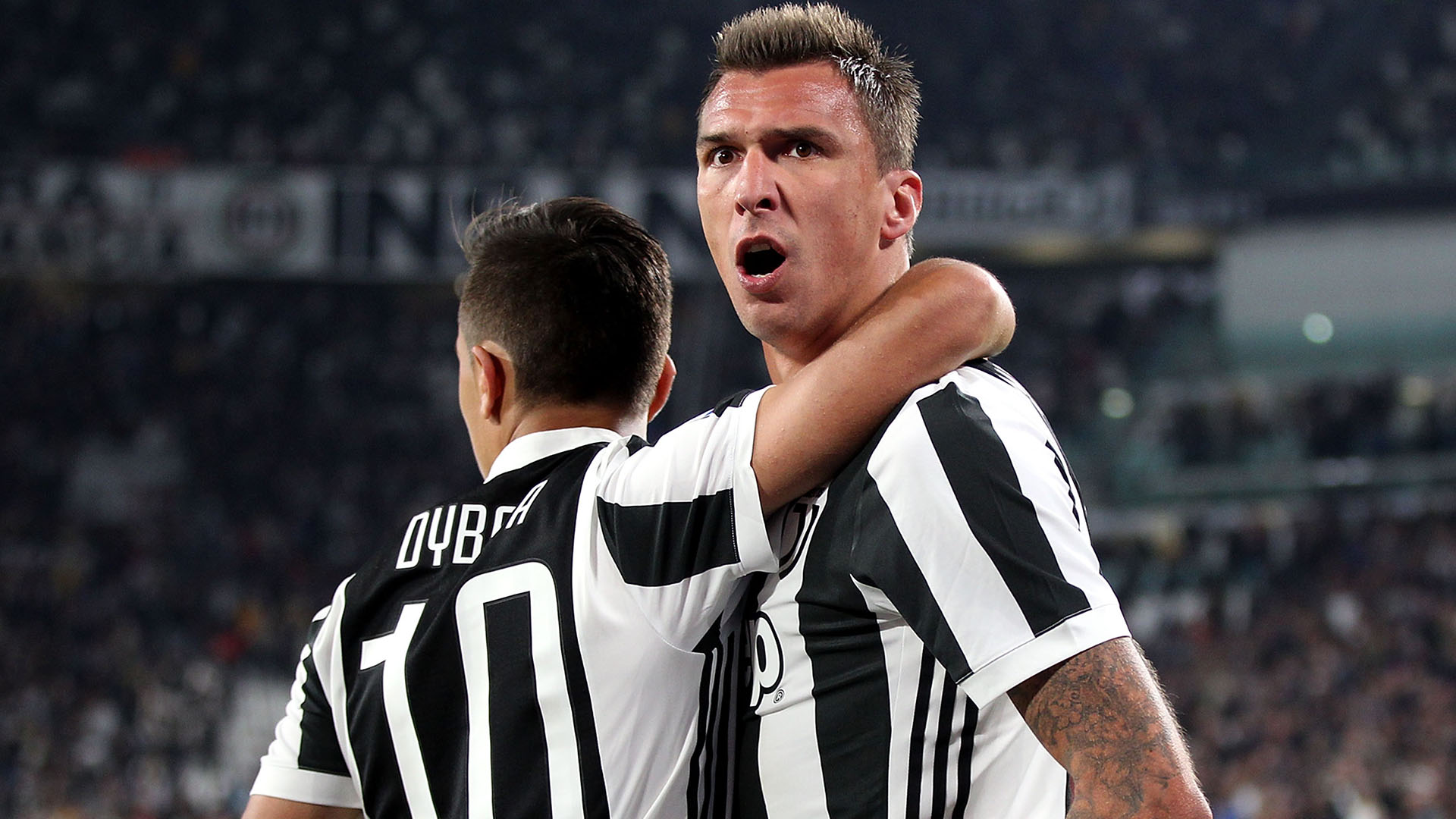 Mario Mandzukic Juventus Fiorentina Serie A