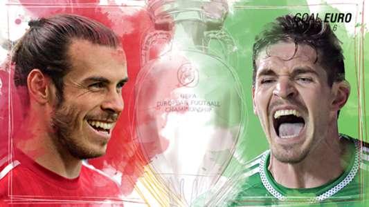 GFX EURO16 Wales Northern Ireland Euro 2016