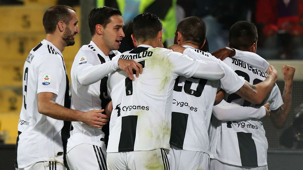 Juventus celeb Fiorentina