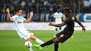 Florian Thauvin Mario Balotelli Olympique de Marseille Nice Ligue 1 05072017
