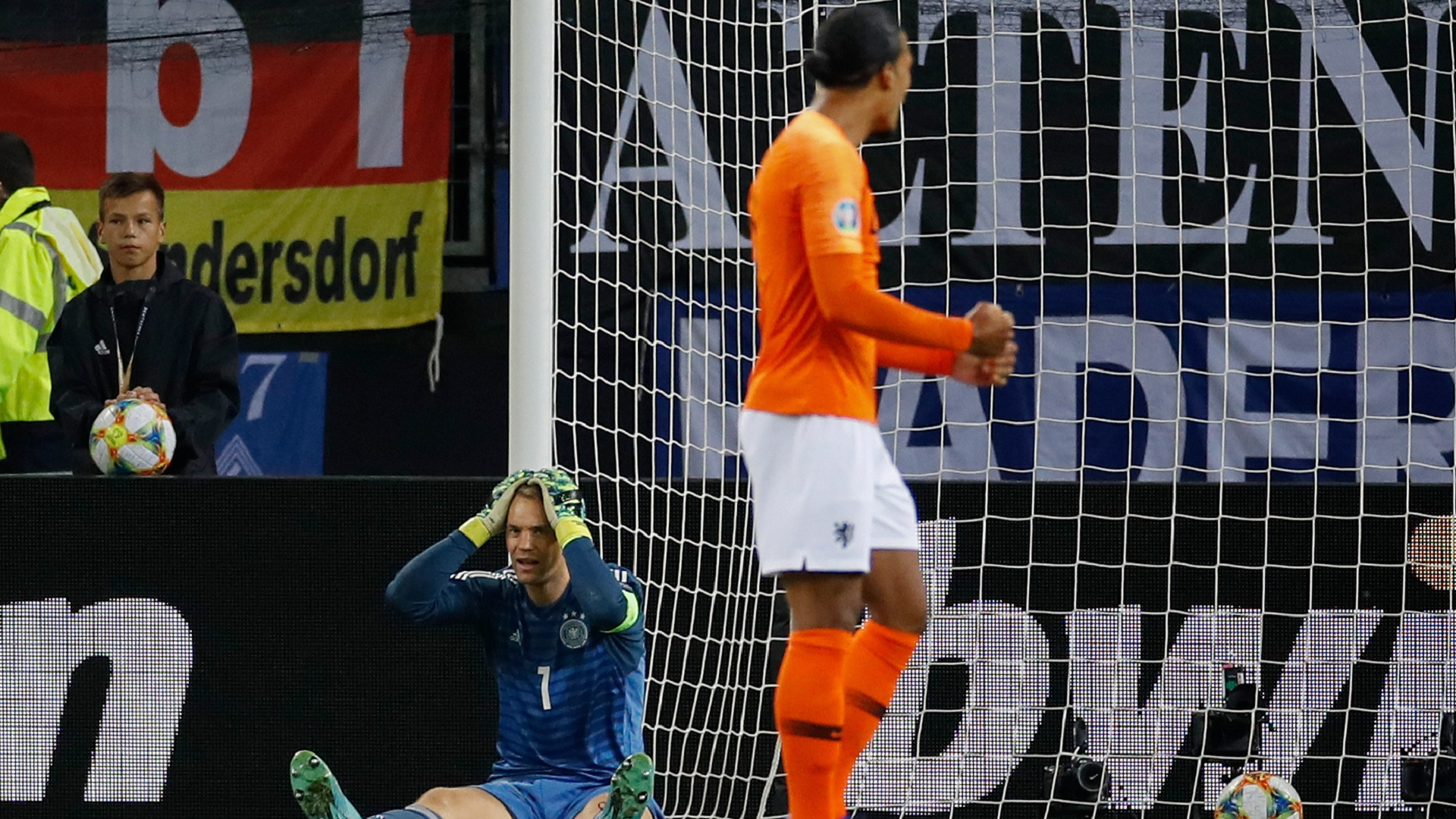 Euro 2020 qualifiers: Netherlands beat Germany 4-2
