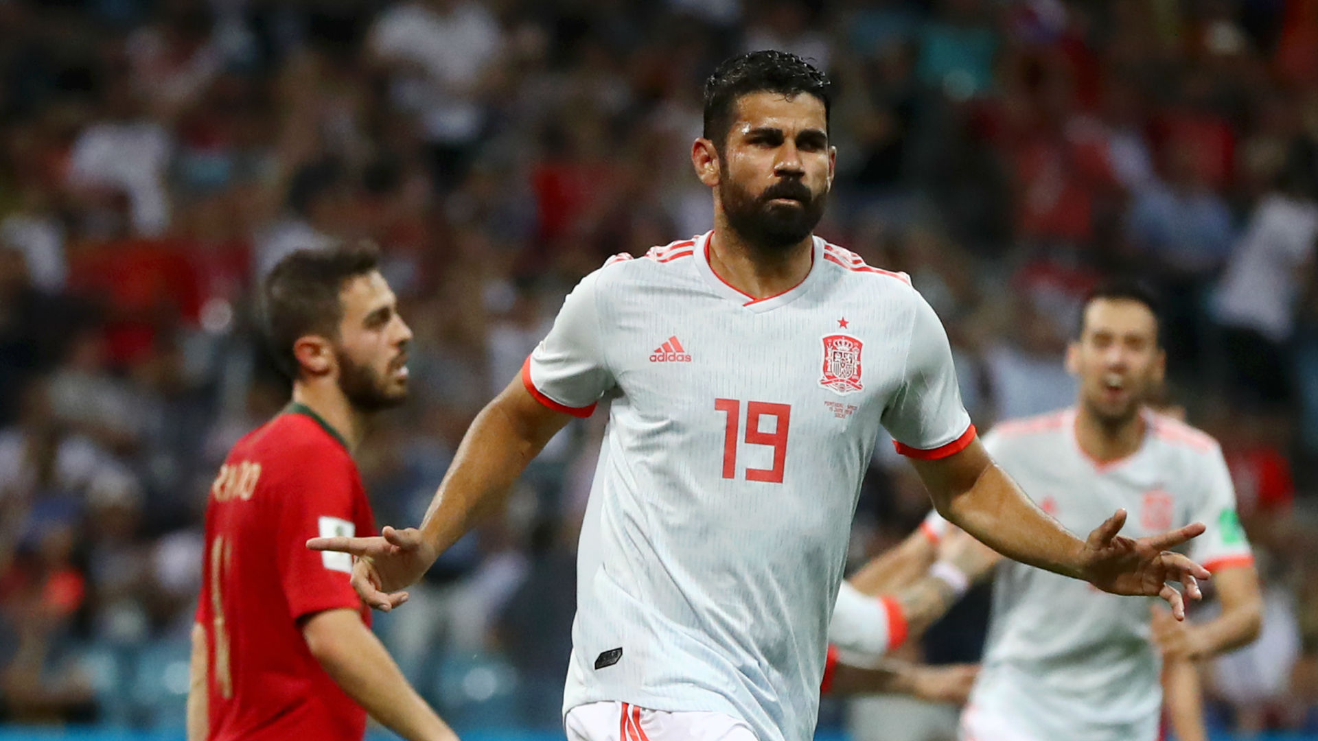 Diego Costa Spain Portugal World Cup 2018