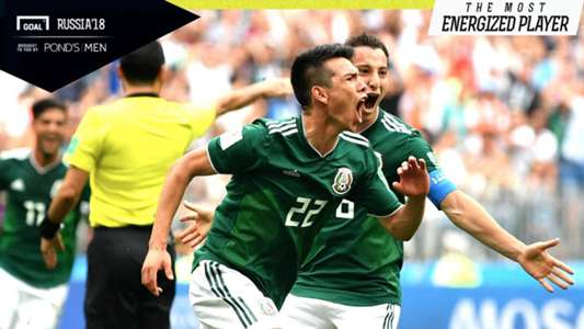 Hirving Lozano The Most Energized Player Jerman vs Meksiko