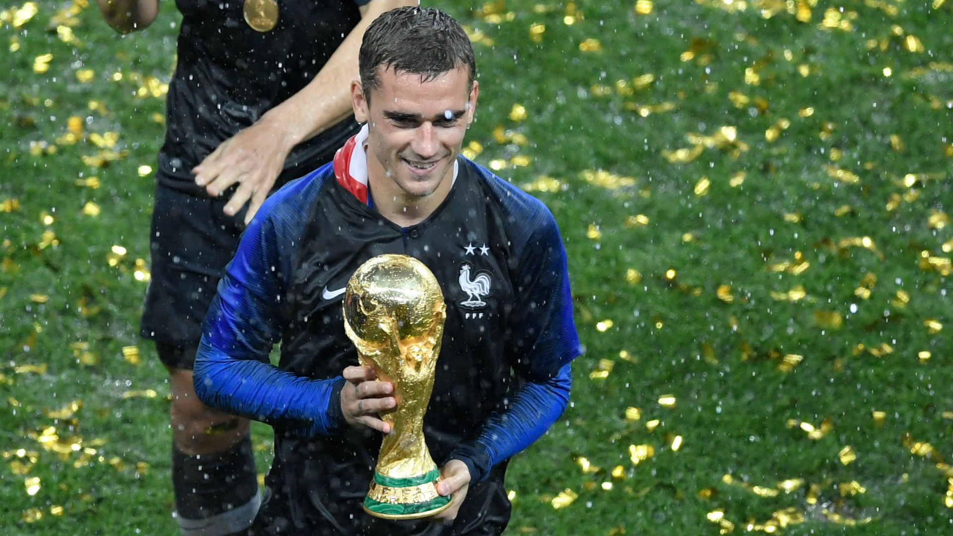 Image result for Man of the Match is Antoine Griezmann (France) during the world cup finals