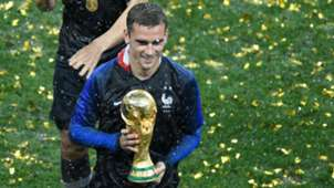 Antoine Griezmann France Croatia World Cup 2018