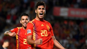 Marco Asensio España Croacia Spain Croatia UEFA Nations League 11092018