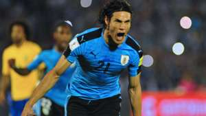Edinson Cavani Uruguay vs. Brazil