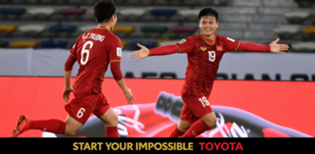 Vietnam vs Iraq Asian Cup 2019 Cover Toyota