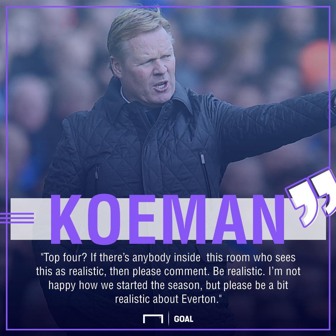 Ronald Koeman Everton GFX