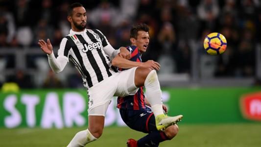 Mehdi Benatia Ante Budimir Juventus Crotone Serie A