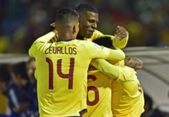 festejo gol Ecuador Argentina Eliminatorias 10102017