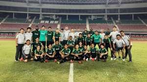 Latihan Indonesia & Myanmar
