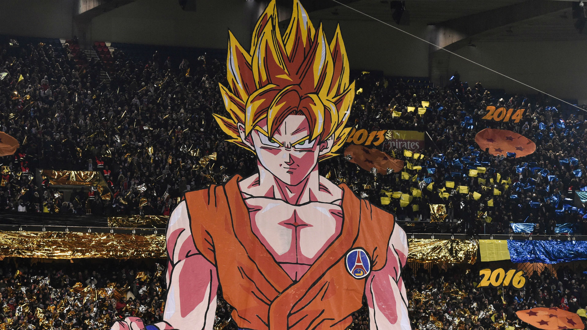 Son Goku SSJ2 PSG OM Ligue 1 25022018