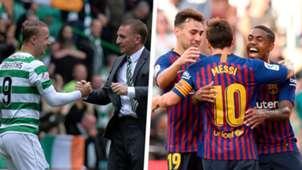 Celtic Barcelona Split
