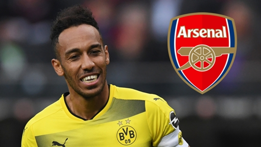 Arsenal close in on £60m Aubameyang signing from Dortmund