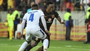 Philani Zulu and Zitha Macheke - Chippa United v Kaizer Chiefs March 2018