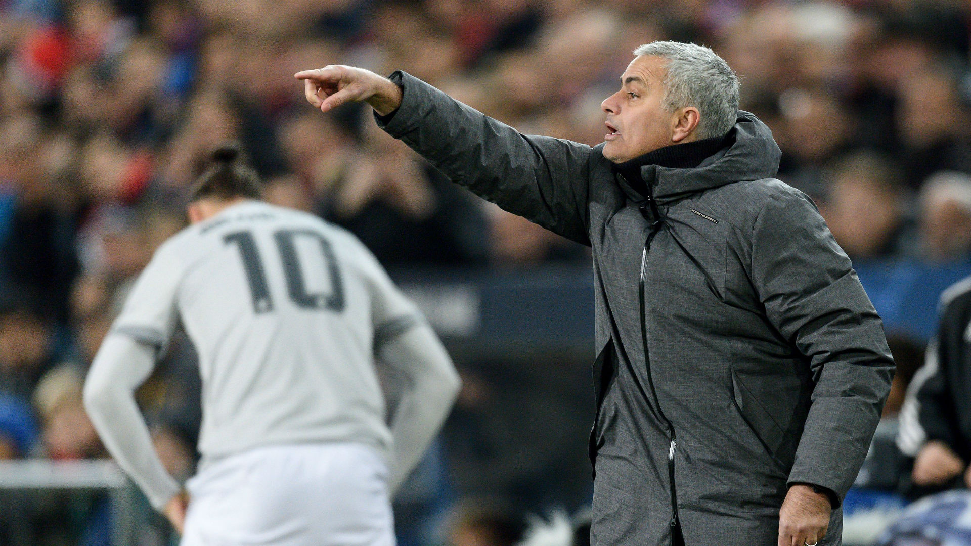 Jose Mourinho Manchester United Basel
