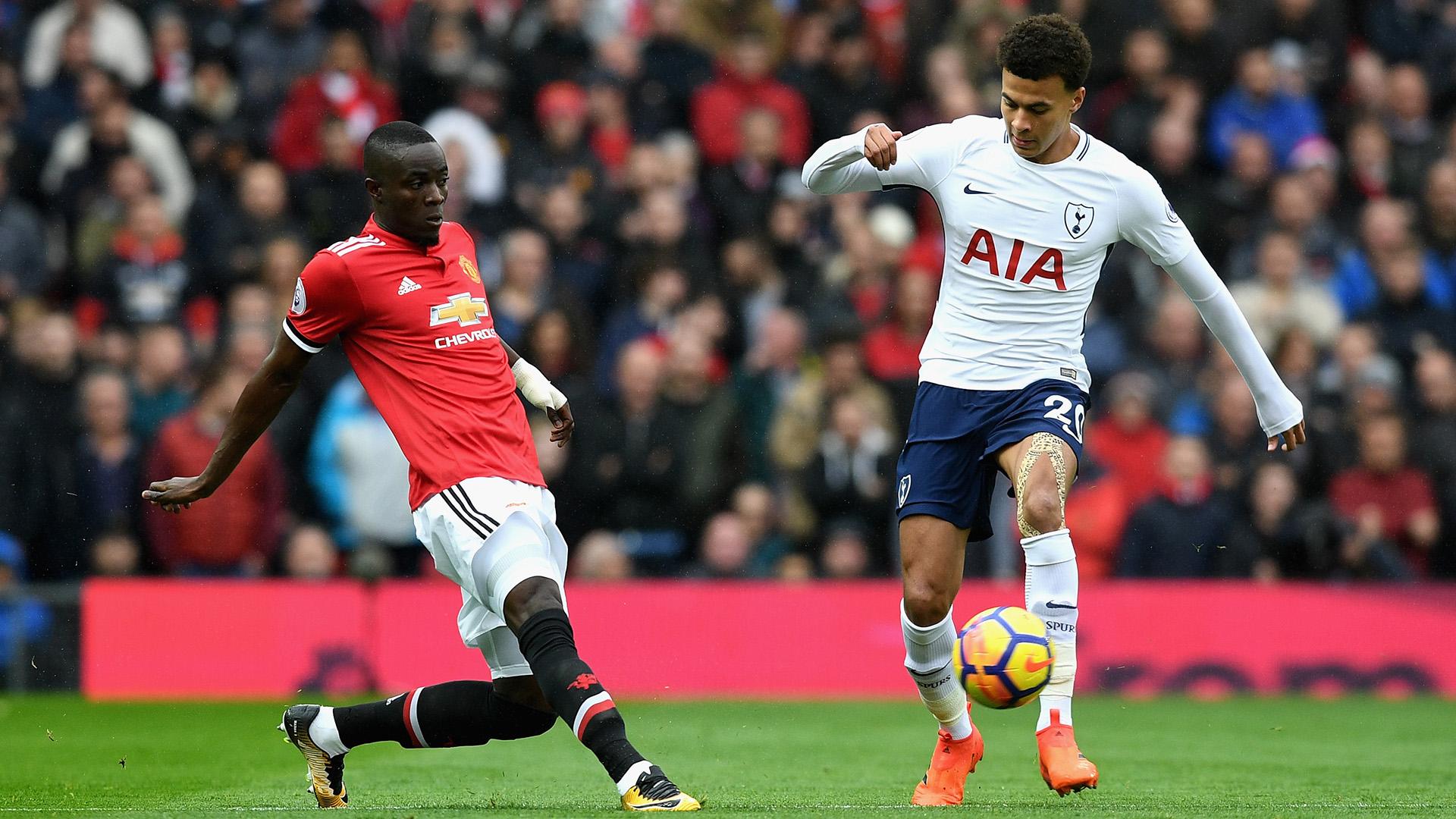 Eric Bailly Dele Alli Manchester United Tottenham Premier League