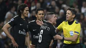 Gianluca Rocchi referee PSG Real Madrid 14022018