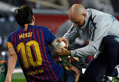 Barca show steel after Messi's injury blow