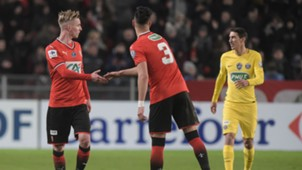 Rennes PSG Coupe de France Bourigeaud Bensebaini Di Maria