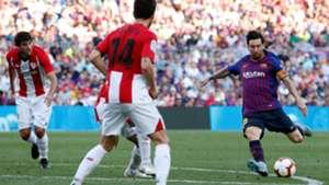 Lionel Messi Barcelona Athletic LaLiga 29092018