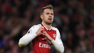 Aaron Ramsey Arsenal Leicester City Premier League