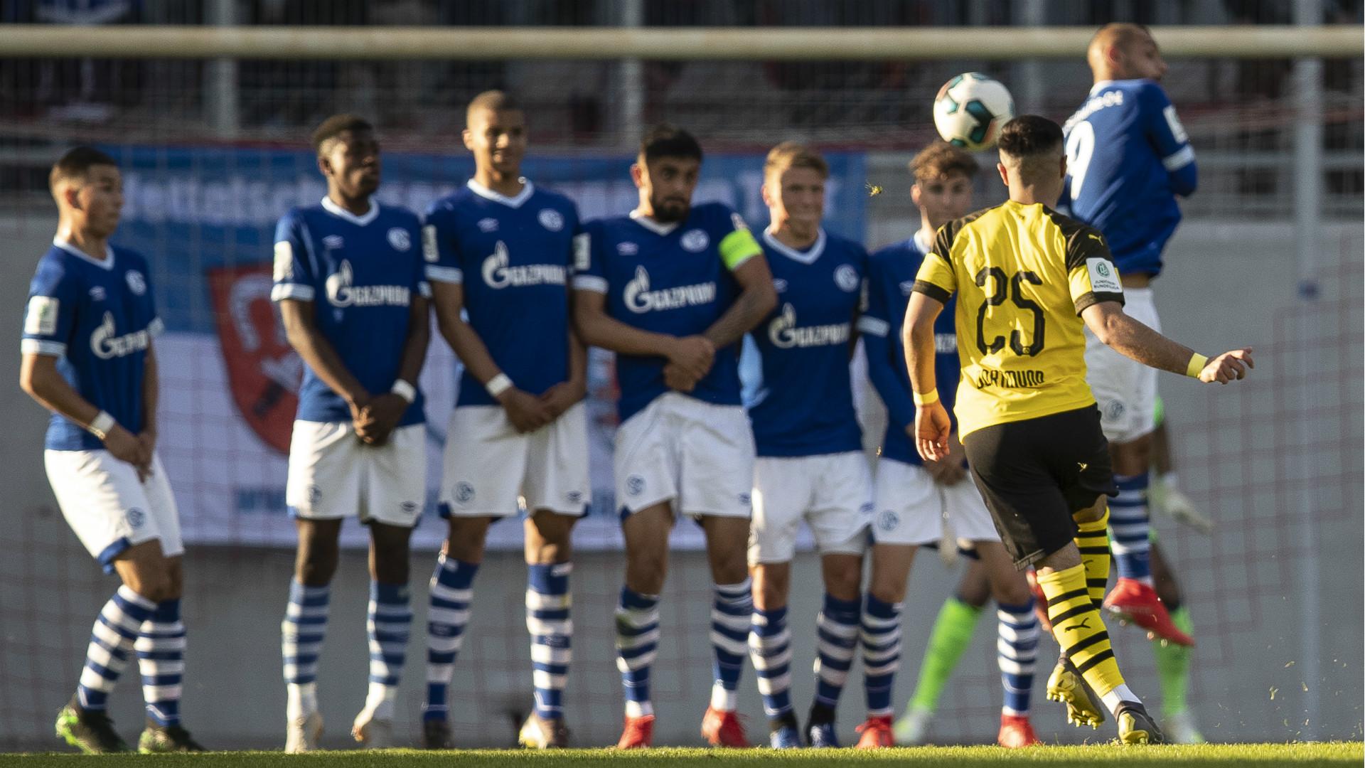 Emre Aydinel Schalke 04 Borussia Dortmund U19 2019