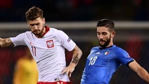 Mateusz Klich Roberto Gagliardini Poland Italy 07092018