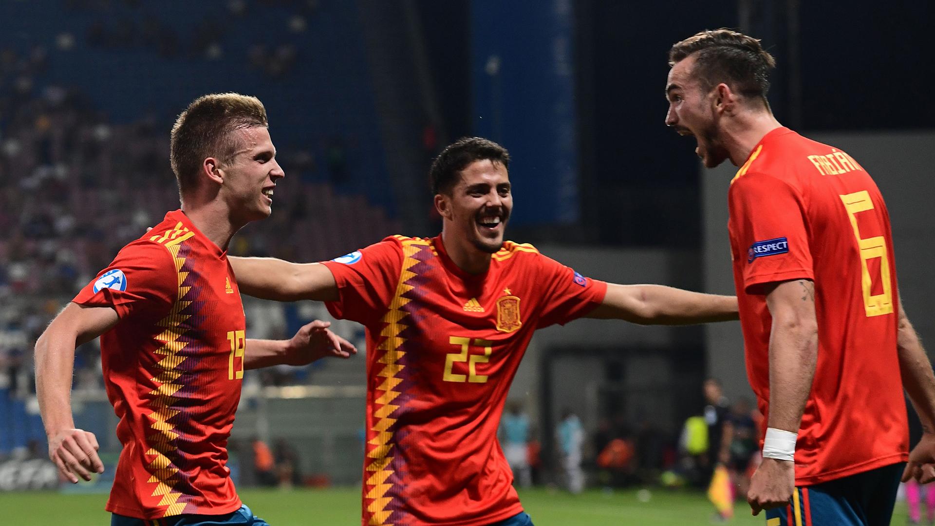 Fabian Ruiz Spain U21 Euros