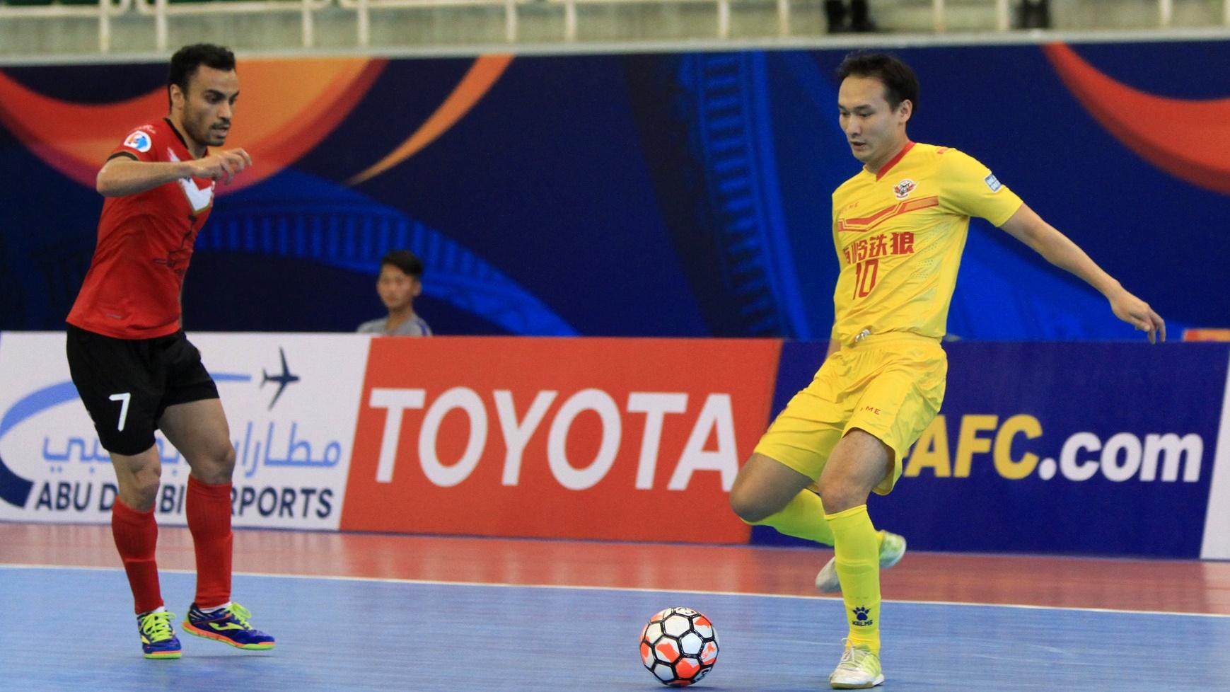 2017 AFC Futsal Club Championship | Sanaye Giti Pasand vs Shenzheng Nanling