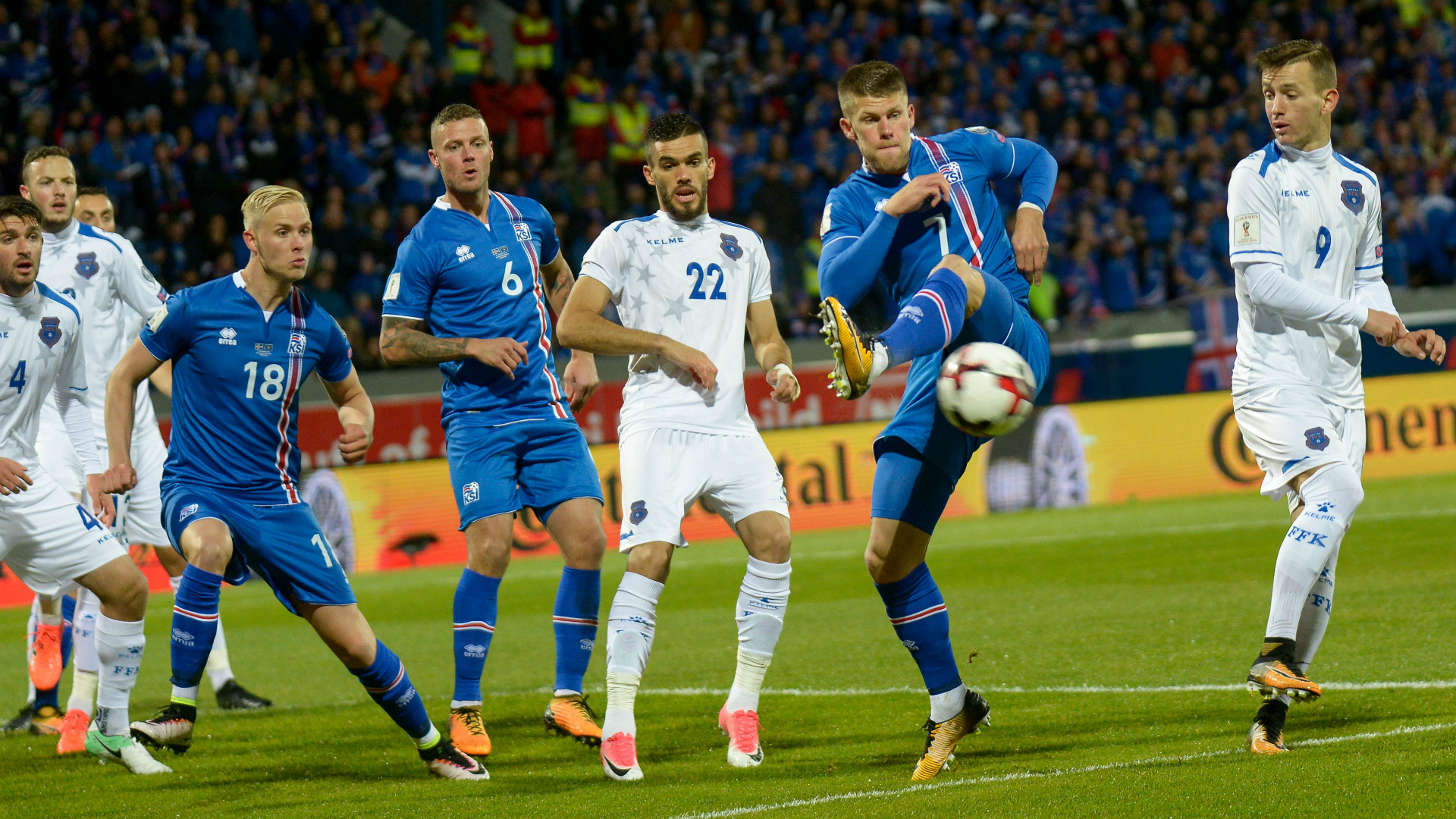 Iceland down Kosovo to qualify for World Cup for first time