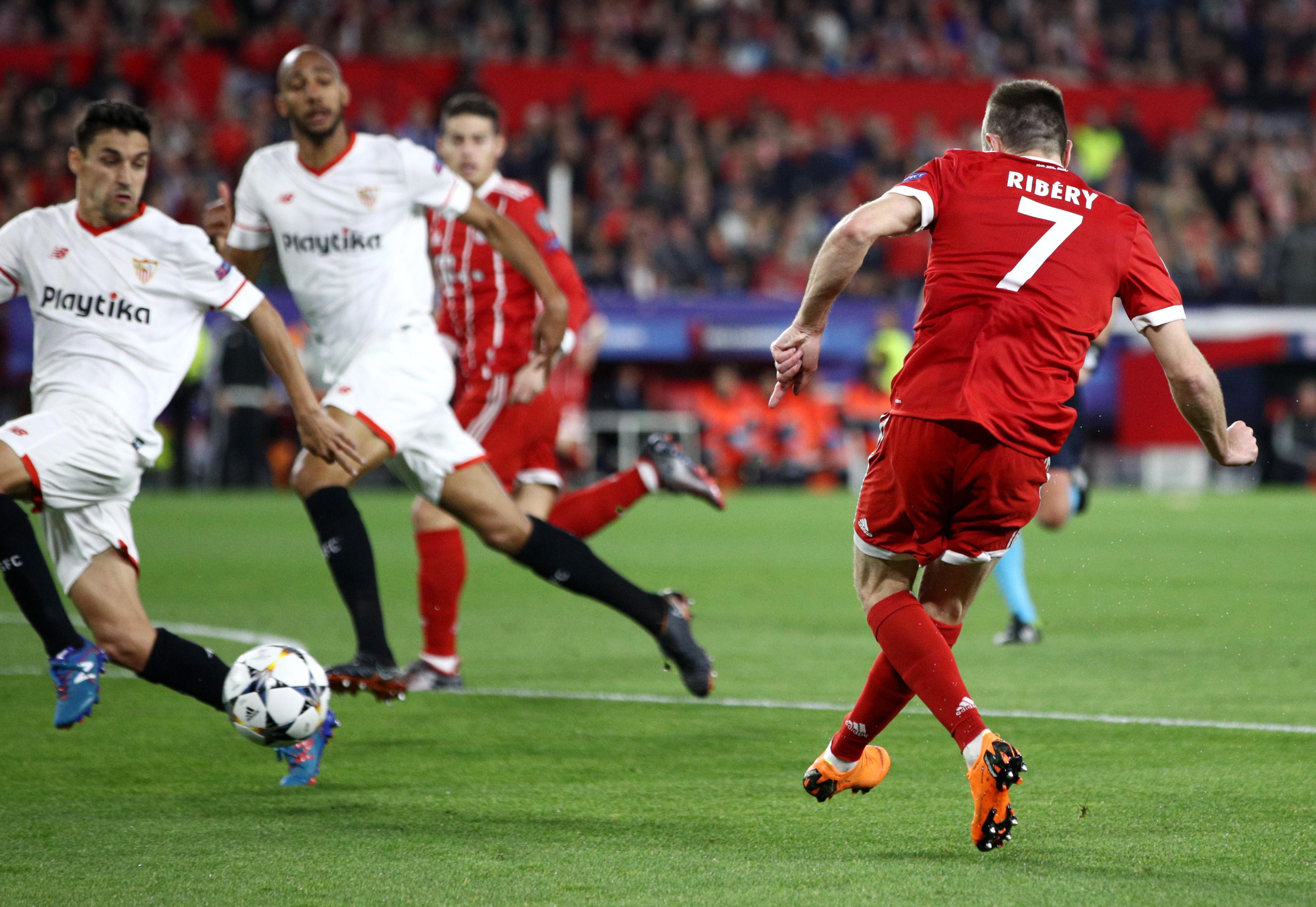 Franck Ribery vs Sevilla