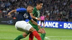 Kylian Mbappe France Bolivia Friendly 02062019