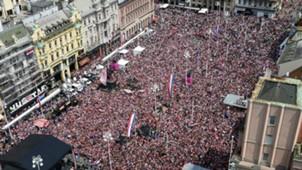 croatia fans zagreb - 16072018