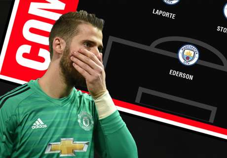 Stop picking De Gea in Man City-Man Utd combined XI!
