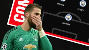 David De Gea Combined XI Graphic