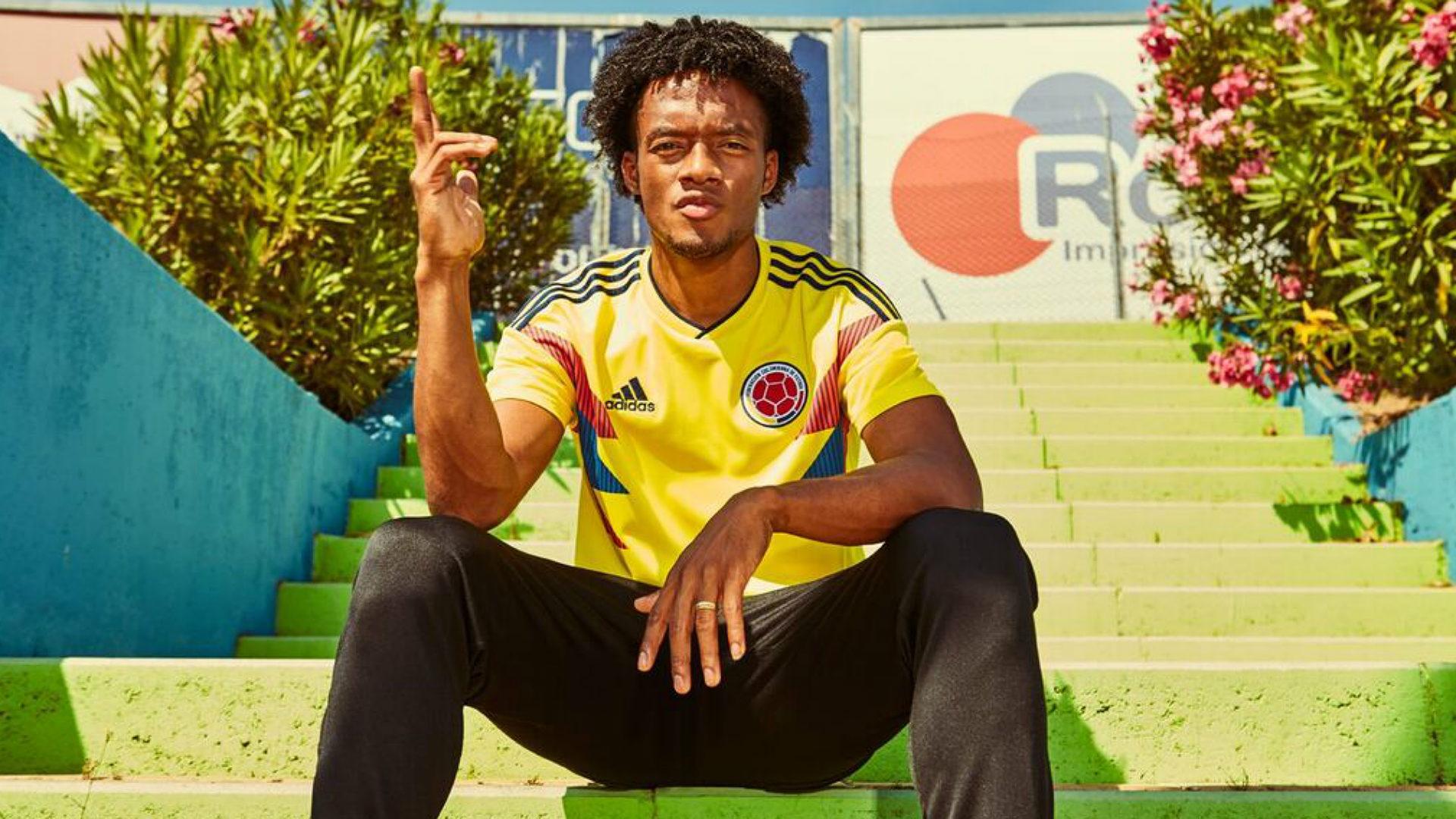 Juan Cuadrado Colombia WC shirt