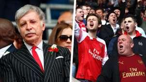 Stan Kroenke Arsenal fan composite