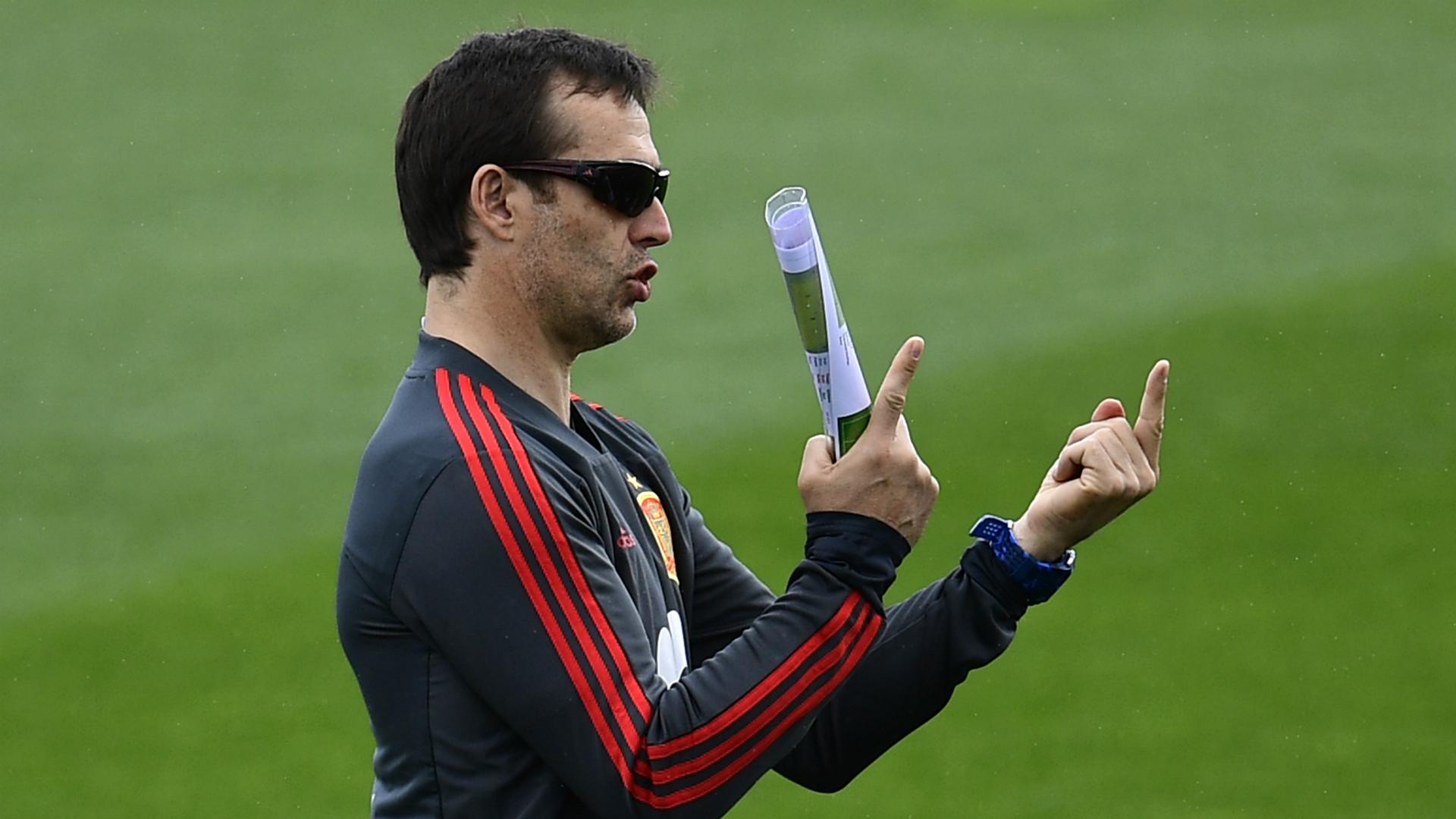 Spain stay unbeaten under Lopetegui after Swiss draw