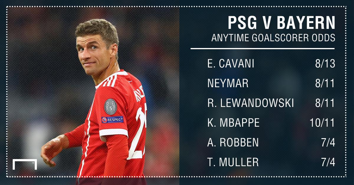 PSG Bayern graphic