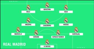 XI Real Madrid
