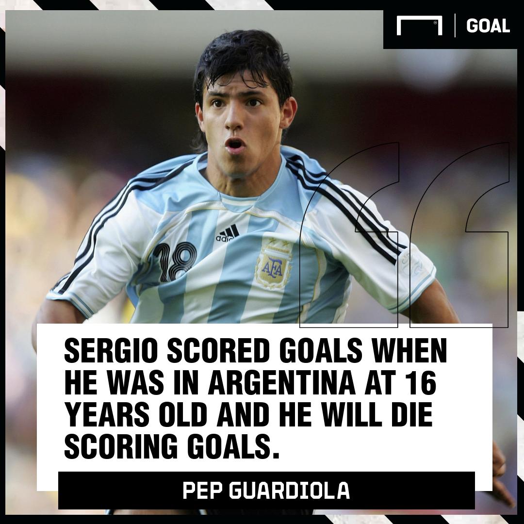 Sergio Aguero Pep Guardiola Argentina PS
