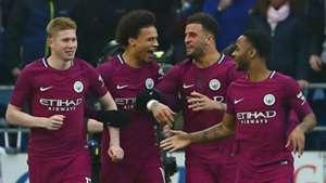 Manchester City celebrate