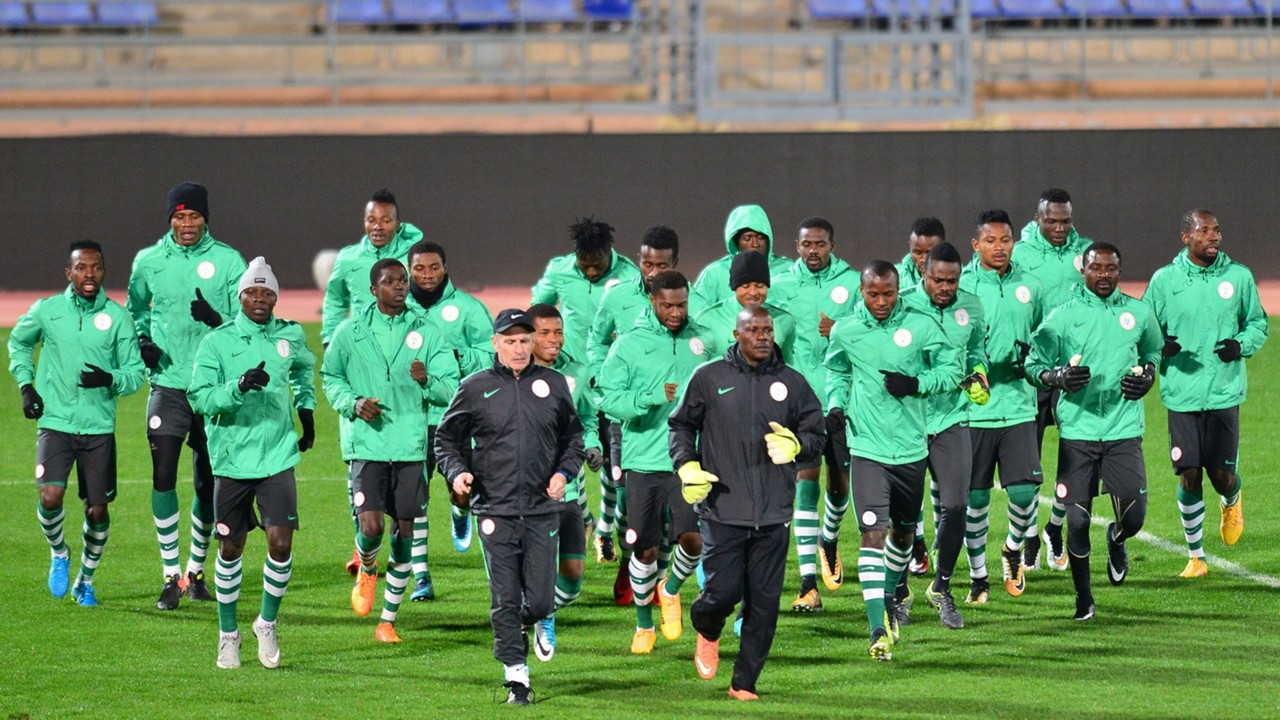 Nigeria training CHAN 2018