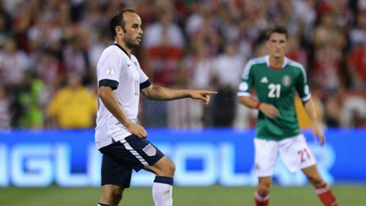 Landon Donovan USA Mexico