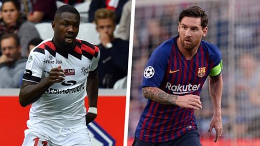 Marcus Thuram Lionel Messi Split